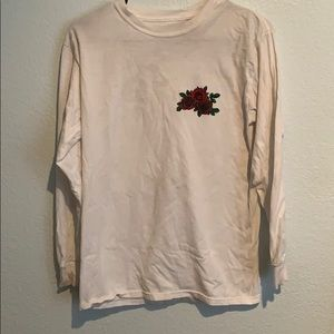 Forever 21 Men's shirt (with rose)